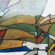 "<strong>""EIFEL 01"" </strong>Technique: Mixed Media / Size: 160 cm x 60 cm"