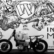 "<strong>""CLASSIC by WUNDERLICH"" </strong>/ INTERMOT 2016 / Technique: Marker / Size: 20 m²"