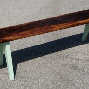 "<strong>""LOUIS""</strong> The Bench / Components: Oak Wood & Steel / Size: 198 cm x 46 cm"