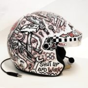 "Fred Krugger ""Master Bricoleur"" / Exclusive hand-painted Helmet / Technique: Marker"